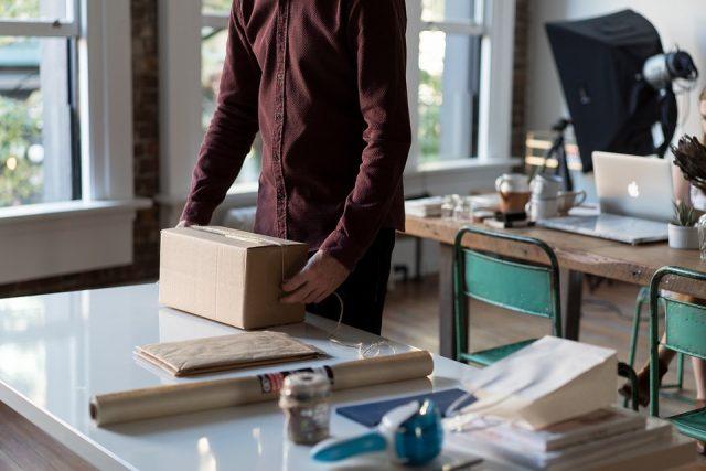 zakelijke pakketten versturen