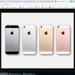 Iphones van de zaak