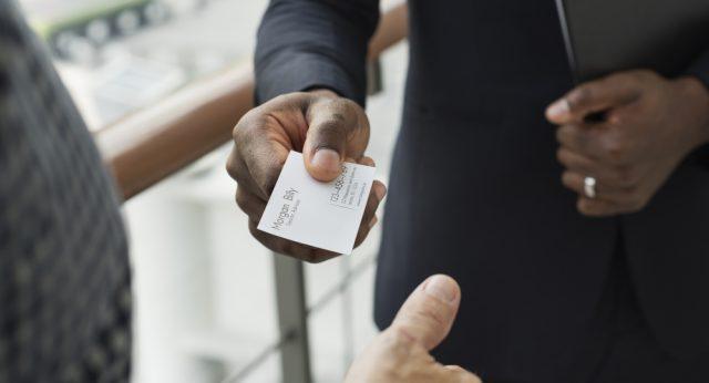 Welke visitekaartjes passen bij mijn bedrijf