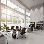 Duurzame kantoorvloer