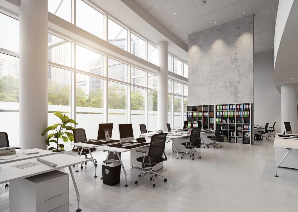 Mooie kantoorvloer