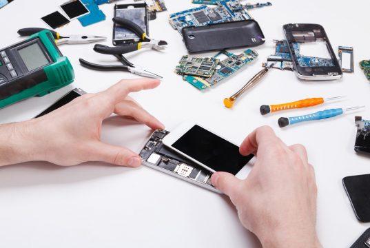 Telefoon repareren