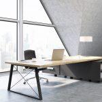 Dakraam in kantoor