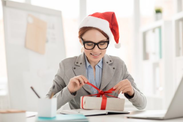 Kerstgeschenk belasting