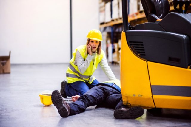 Ongevallen op de werkvloer