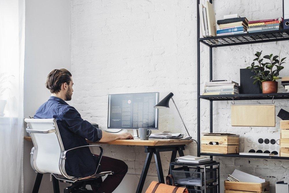 Gezonde en verantwoorde werkplek thuis creeren