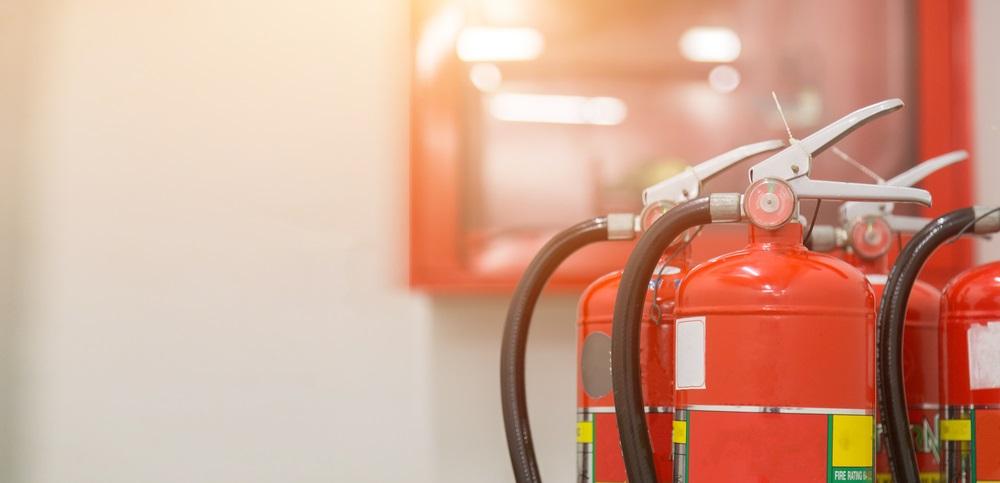 Vergeet de brandveiligheid niet